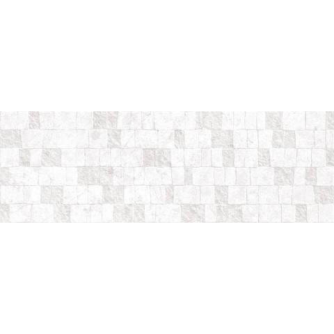 RITUAL BIANCO STRUTTURA 3D DOMINO 32.5X97.7 RETTIFICATO