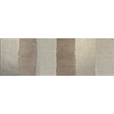 FLEX DECORO STRIPE CREMA 25X76