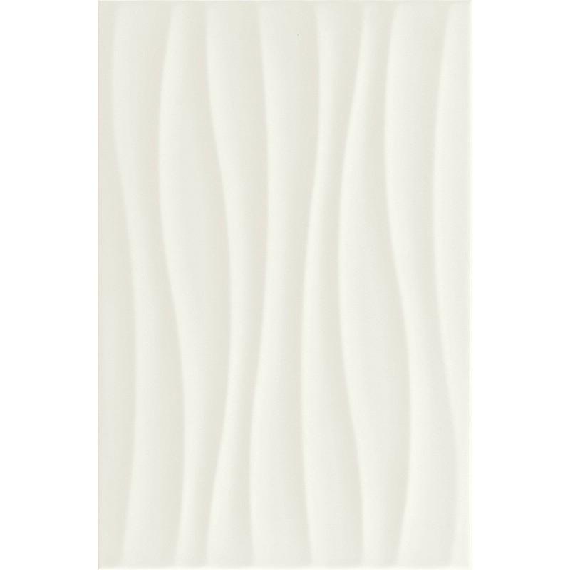 MARAZZI NEUTRAL WHITE STUTTURA TIDE 3D 25X38