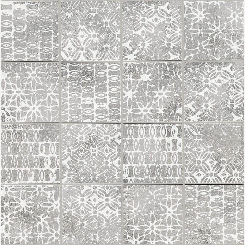 MARAZZI CHALK MOSAICO TEXTURE BUTTER/SMOKE/GREY 30X30