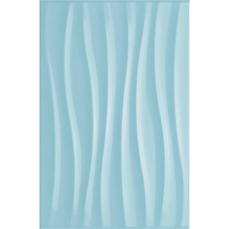 MARAZZI CHROMA LIGHT BLUE STRUTTURA TIDE 3D 25X38