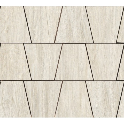 WOODLIVING MOSAICO ROVERE GHIACCIO  33x30