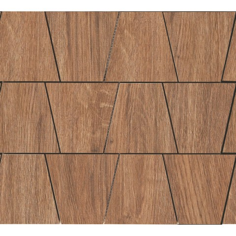 WOODLIVING MOSAICO ROVERE SCURO  33x30