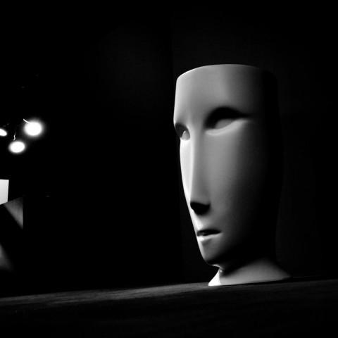 KERASAN ARTWORK LAVABO FREESTANDING MOLOCO CENERE