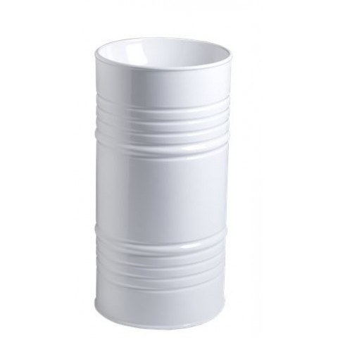 KERASAN ARTWORK LAVABO FREESTANDING BARREL BIANCO