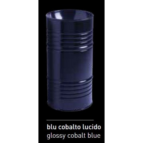 ARTWORK LAVABO FREESTANDING BARREL BLU LUCIDO