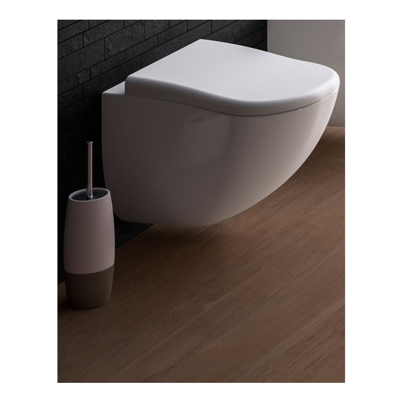 SANITARI CIELO FLUID VASO C/COPRIVASO SOFT CLOSE SOSPESO