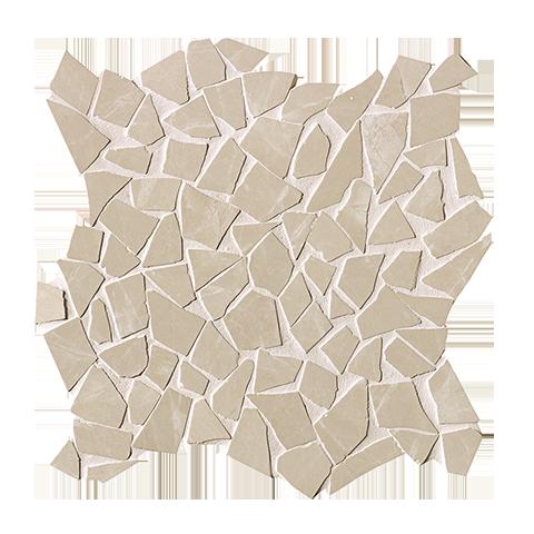 ROMA DIAMOND BEIGE DUNA SCHEGGE GRES MOSAICO 30X30