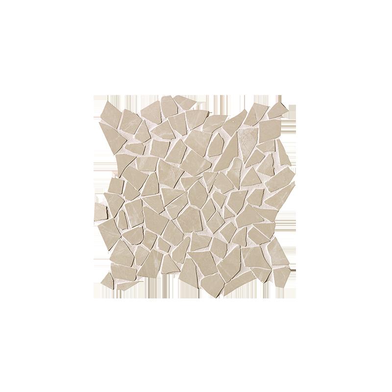 FAP CERAMICHE ROMA DIAMOND BEIGE DUNA SCHEGGE GRES MOSAICO ANTIC. 30X30