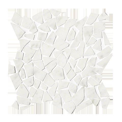 ROMA DIAMOND CARRARA SCHEGGE GRES MOSAICO 30X30