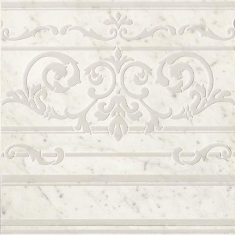 ROMA DIAMOND CARPET CARRARA BORDER INS. 60X60 RETT