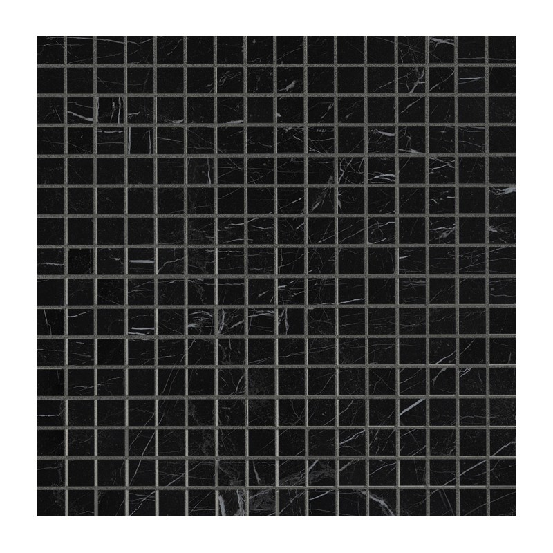 FAP CERAMICHE ROMA DIAMOND NERO REAL BRILLANTE MOSAICO 30.5X30.5