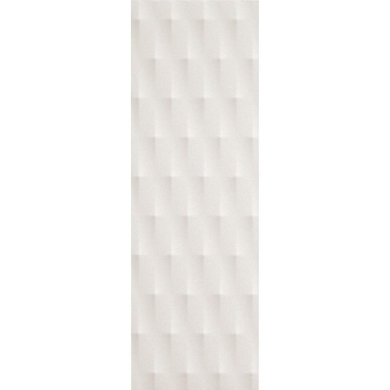 FAP CERAMICHE LUMINA 75 DIAMANTE WHITE MATT 25X75