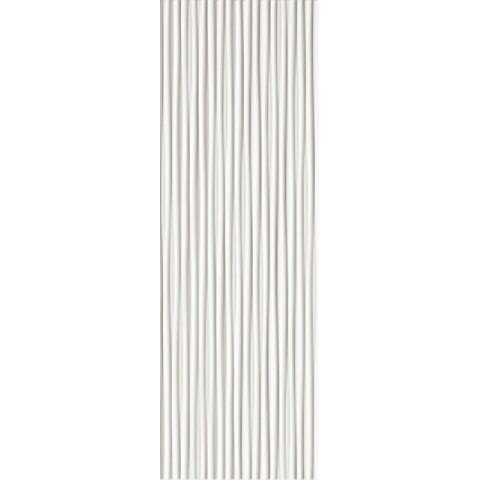 FAP CERAMICHE LUMINA 75 LINE WHITE MATT 25X75