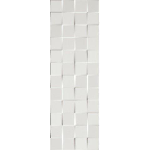 LUMINA 75 SQUARE WHITE GLOSS 25X75