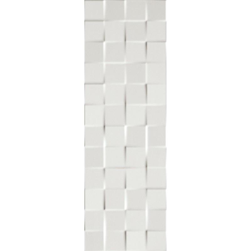 FAP CERAMICHE LUMINA 75 SQUARE WHITE GLOSS 25X75