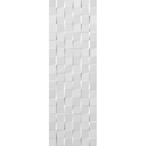 LUMINA 75 SQUARE WHITE MATT 25X75