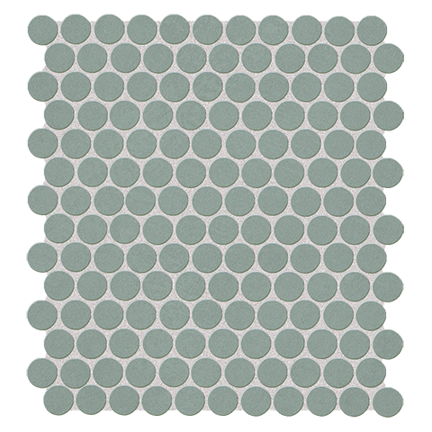 COLOR LINE SALVIA ROUND MOSAICO 29.5X29.5