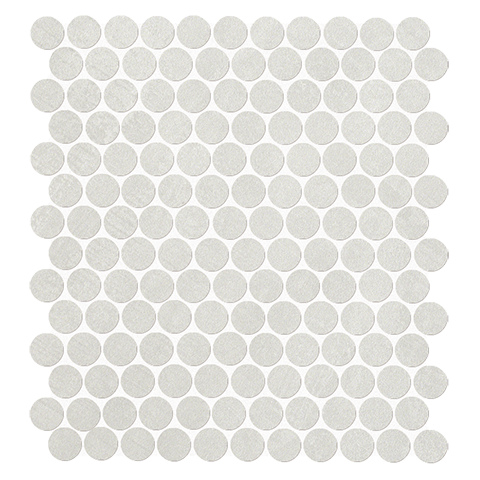 FAP CERAMICHE COLOR NOW PERLA ROUND MOSAICO 29.5X32.5