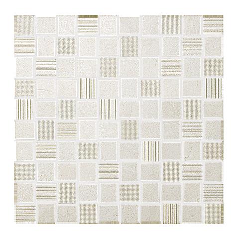 FAP CERAMICHE DESERT CHECK WHITE MOSAICO 30.5X30.5