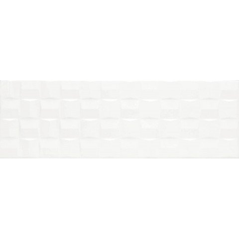 ABSOLUTE WHITE STRUTT. CUBE 3D LUX 25X76