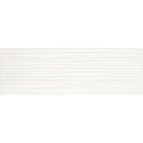 ABSOLUTE WHITE STRUTT. FIBER 3D SATINATO 25X76