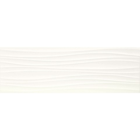 MARAZZI ABSOLUTE WHITE STRUTT. TWIST 3D SATINATO 25X76