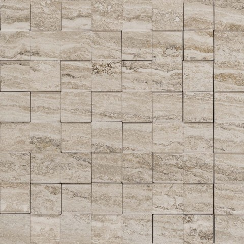 ALLMARBLE TRAVERTINO MOSAICO 3D 30X30