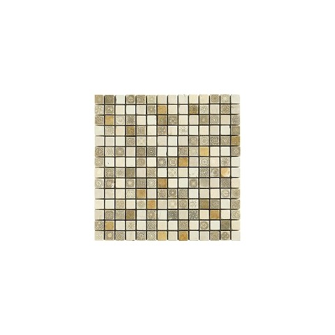 50% DECOR BEIGE 31x31 MIX TESSERE 2X2