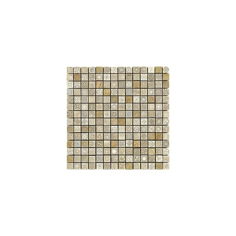 FULL DECOR BEIGE METAL 31x31 MIX TESSERE 2X2