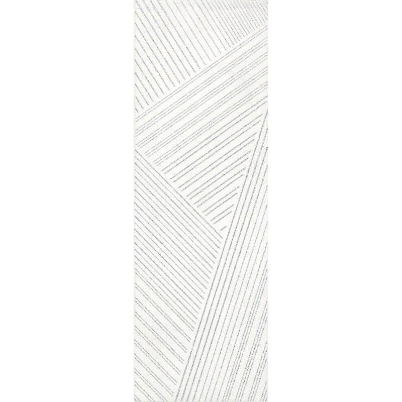 IDEA CERAMICA ZEN WHITE SILVER 20X60
