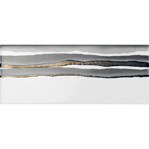 PAUL CERAMICHE LINEUP INS. BRUSH WHITE 20x50