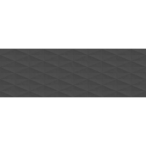 ECLETTICA ANTHRACITE STRUTT DIAMOND 3D 40X120 RETT