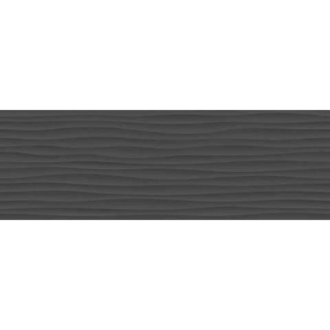 ECLETTICA ANTHRACITE STRUTT WAVE 3D 40X120 RETT