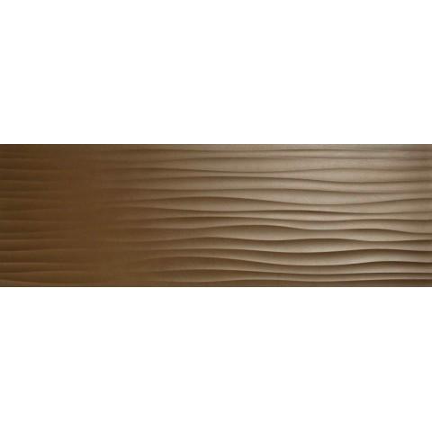 ECLETTICA BRONZE STRUTT WAVE 3D 40X120 RETT