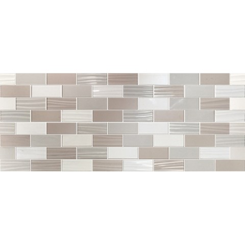 LINEUP MOSAICO TAUPE 3D 20X50