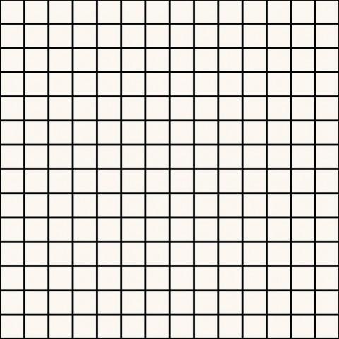 ECLETTICA WHITE MOSAICO 40X40