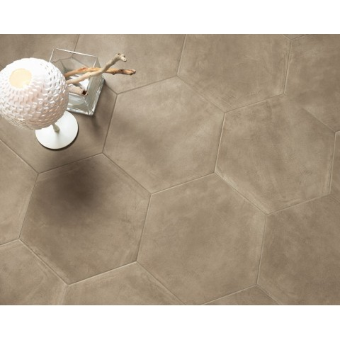 PAUL CERAMICHE MADISON TAUPE ESAGONALE