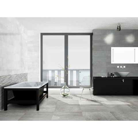 PAUL CERAMICHE SOHO BRICK GREY 20X50