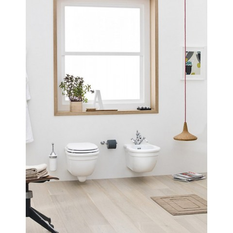 HERMITAGE SET VASO C/COPRIVASO SOFT CLOSE + BIDET SOSPESO