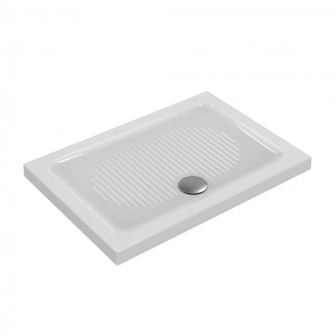 IDEAL STANDARD CONNECT PIATTO DOCCIA IN CERAMICA 100X80 SP.6 CM