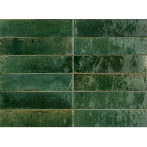 MARAZZI CROGIOLO LUME GREEN 6X24