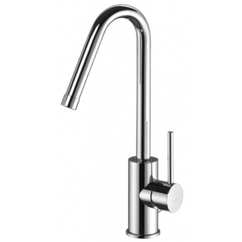 LIGHT MISCELATORE LAVABO PROLUNGATO C/CANNA ORIENTABILE S/SCARICO
