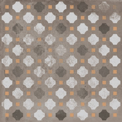 RITUAL PATCHWORK BROWN 20X20