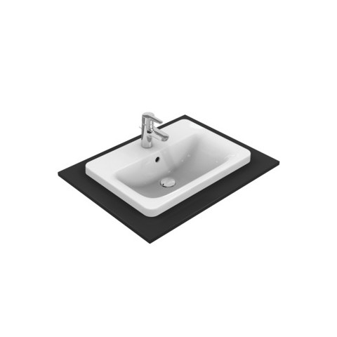 IDEAL STANDARD CONNECT - LAVABO 580 MM DA INCASSO SOPRAPIANO