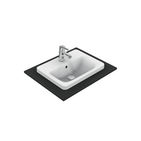 IDEAL STANDARD CONNECT - LAVABO 500 MM DA INCASSO SOPRAPIANO