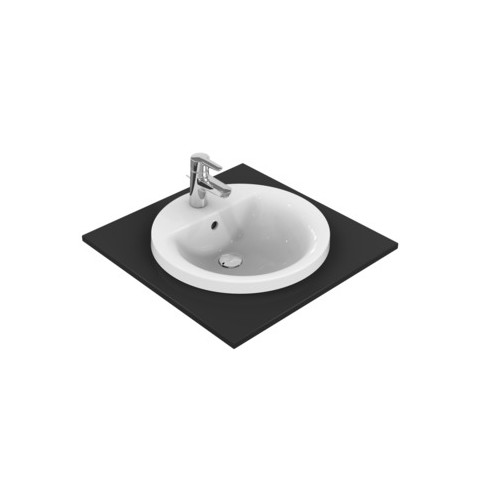 IDEAL STANDARD CONNECT - LAVABO 480 MM DA INCASSO SOPRAPIANO
