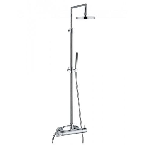 BAMBU' miscelatore doccia esterno termostatico c/stelo completo