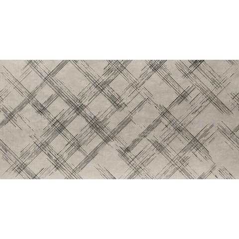 FAP CERAMICHE BLOOM METAL GREY SILVER INSERTO 80X160 RETTIFICATO