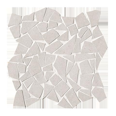 FAP CERAMICHE NUX WHITE GRES SCHEGGE MOSAICO 30X30